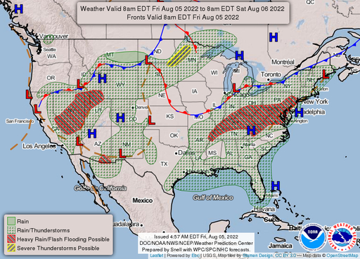 National Weather Map For Tomorrow National Forecast Maps