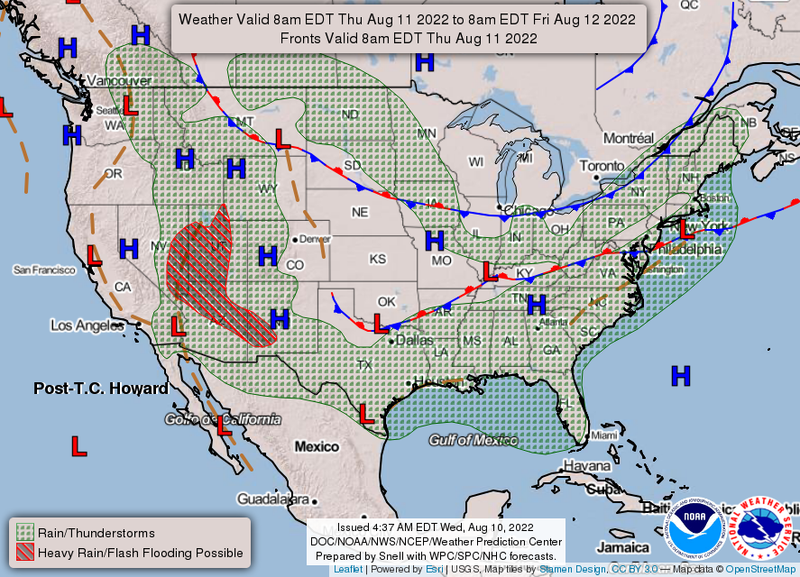 Caribbean Weather Map Forecast.Quick Weather Summary North Georgia Wx