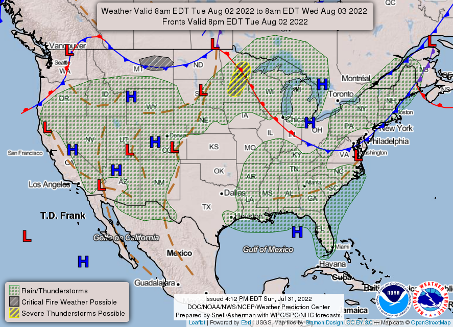 Weather Prediction Center (WPC) Home Page