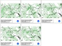 WPC's Day 4-8 Sea Level Pressure Forecasts for Alaska