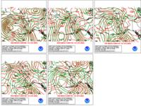 Day 4-8  WPC Versus GFS Sea Level Pressure Forecasts for Alaska