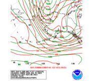 Day 6 WPC and GFS 500mb Height Forecasts