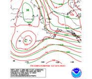 Day 7 WPC and GFS 500mb Height Forecasts