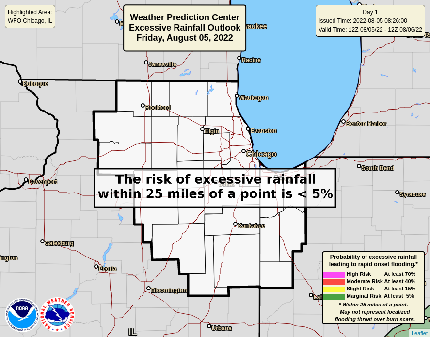 Today's Excessive Rainfall Outlook