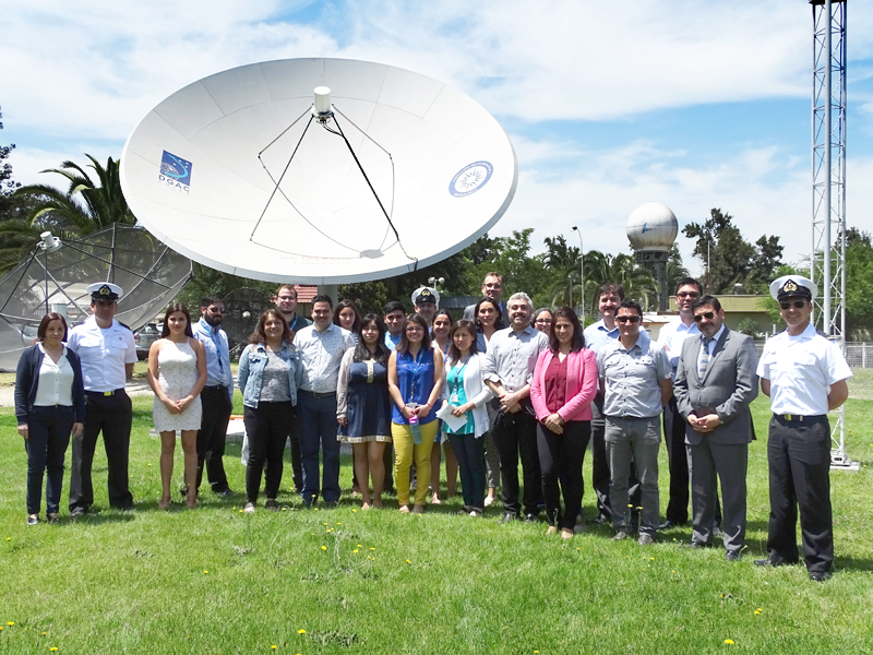 Remote Sensing applications to Weather Forecasting Workshop    in the DMC, Santiago de Chile, Chile (Nov 27-Dec 01, 2017)