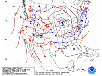 Final Day 3 Fronts and Pressures for the CONUS