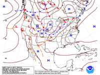 Final Day 4 Fronts and Pressures for the CONUS