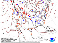 Final Day 5 Fronts and Pressures for the CONUS