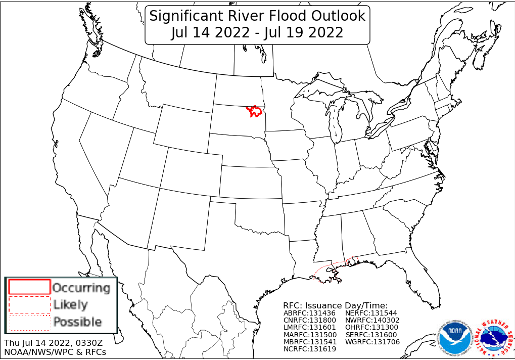 Significant River Flood Outlook Image
