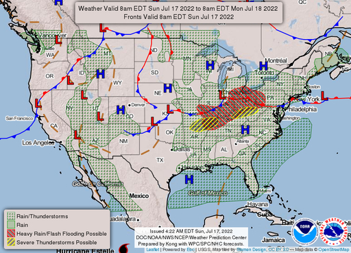 National Maps - NOAA\'s National Weather Service