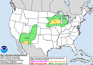 WPC Day 1 Excessive Rainfall