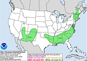 Click to view the latest Excessive Rainfall Forecasts