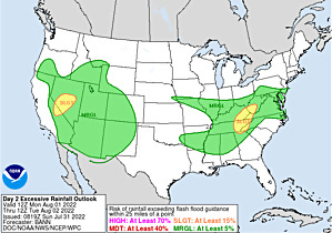Day 2 Excessive Rainfall Forecast