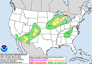 WPC Day 3 Excessive Rainfall