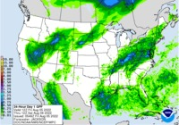 National Weather Service Day 1 QPF