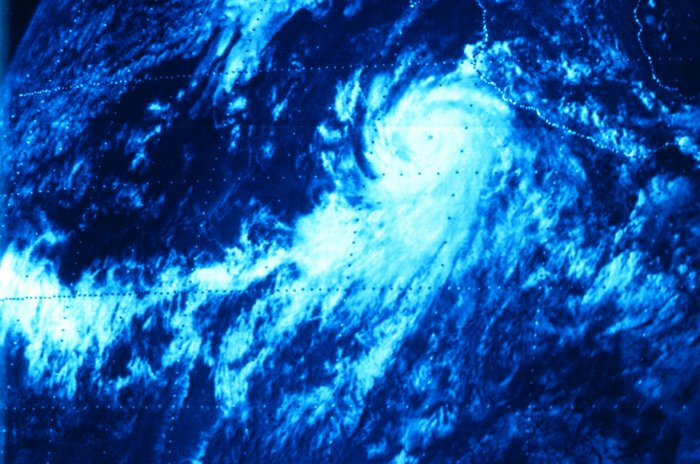 Hurricane Norman (1978) Satellite image