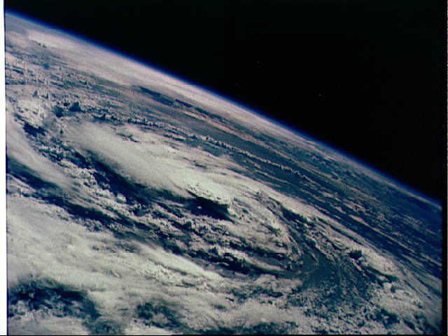 Gladys (1968) Satellite Image