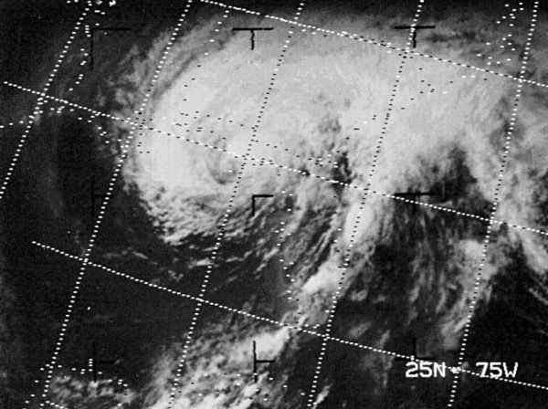 Agnes (1972) satellite picture