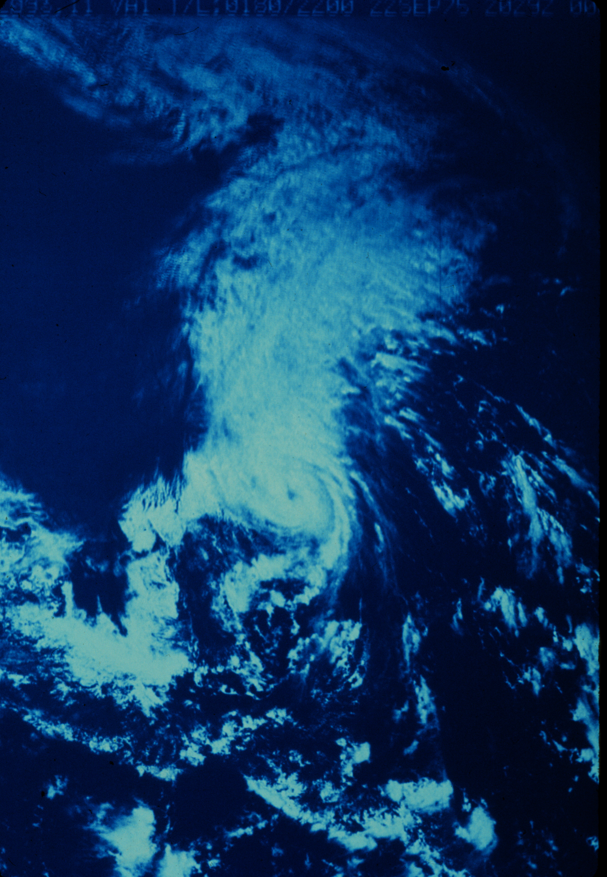 Hurricane Eloise (1975) Satellite Image