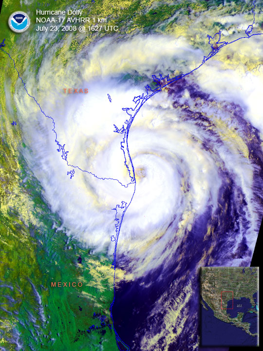 Image of Hurricane Dolly