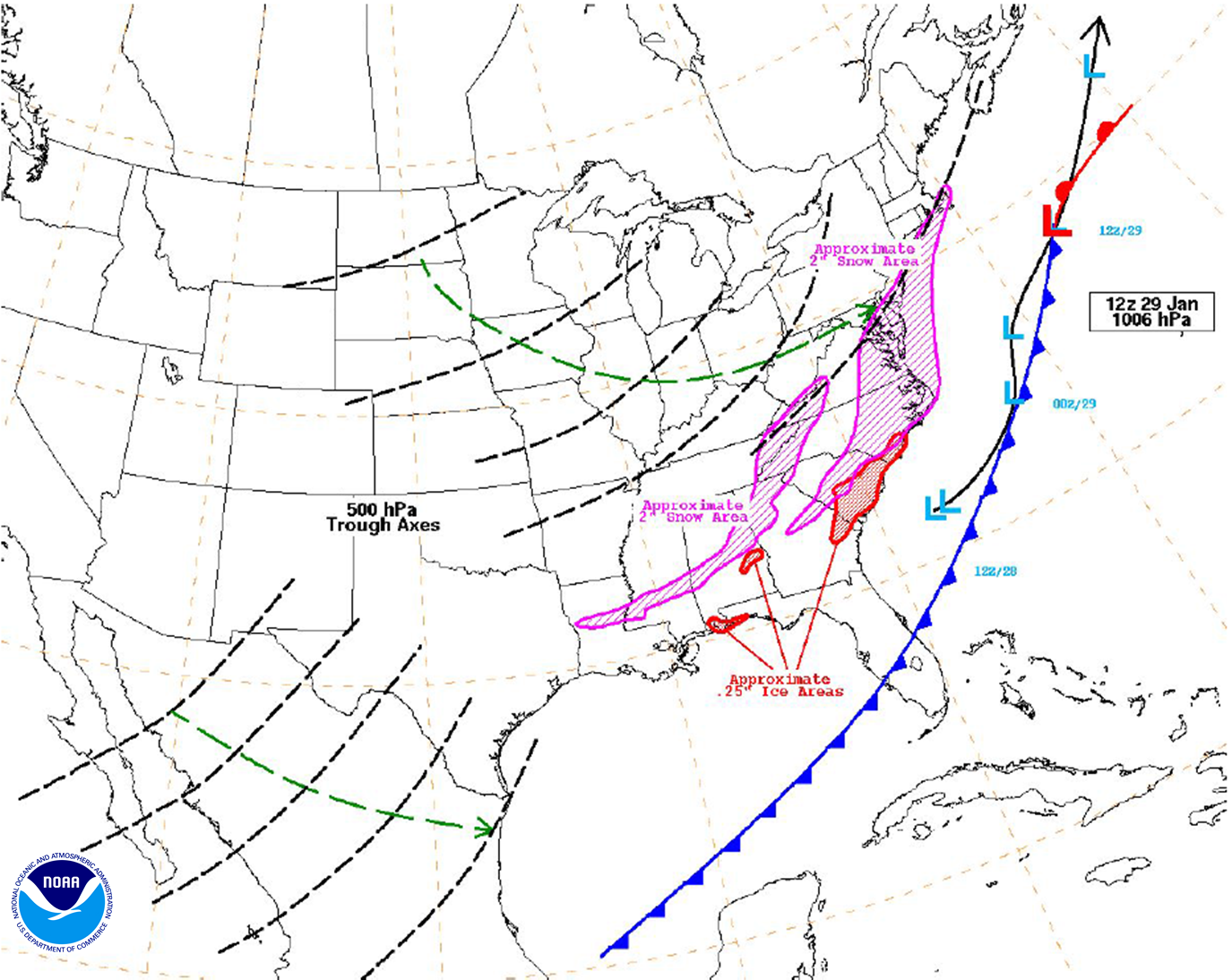 January 20 22 2014 Midwest To Eastern U S Winter Storm