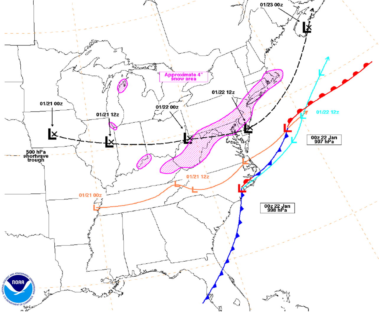 January 5 7 2014 Central And Eastern U S Winter Storm And Arctic Outbreak