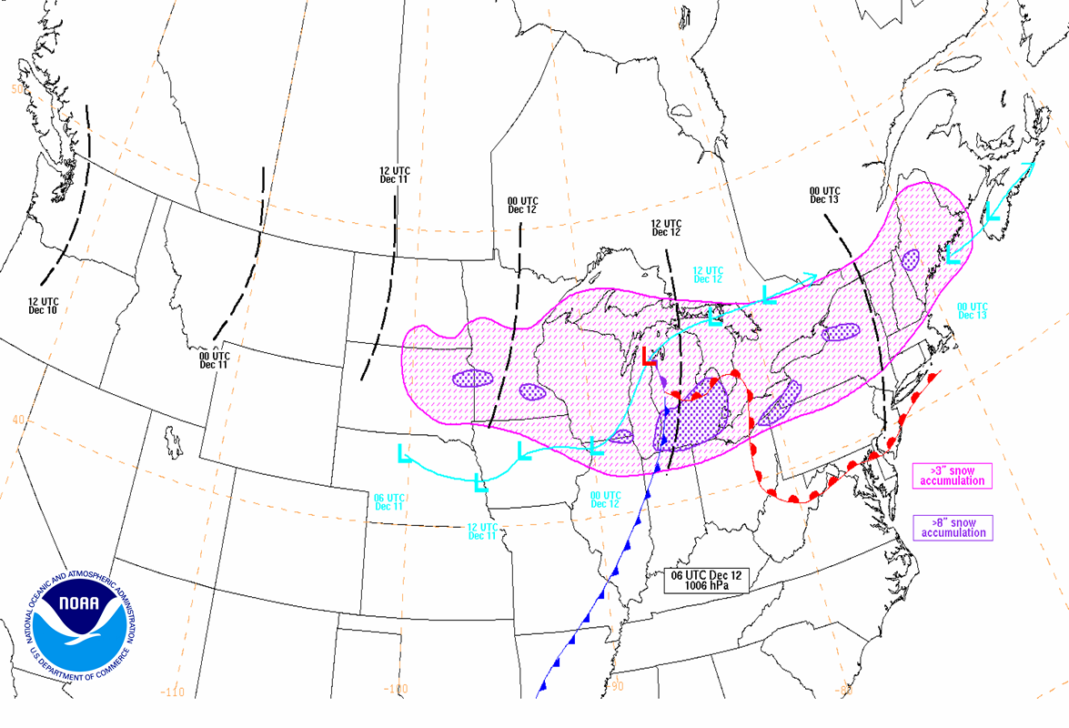 Wpcs Significant Weather Event Reviews - Northeast-us-weather-map