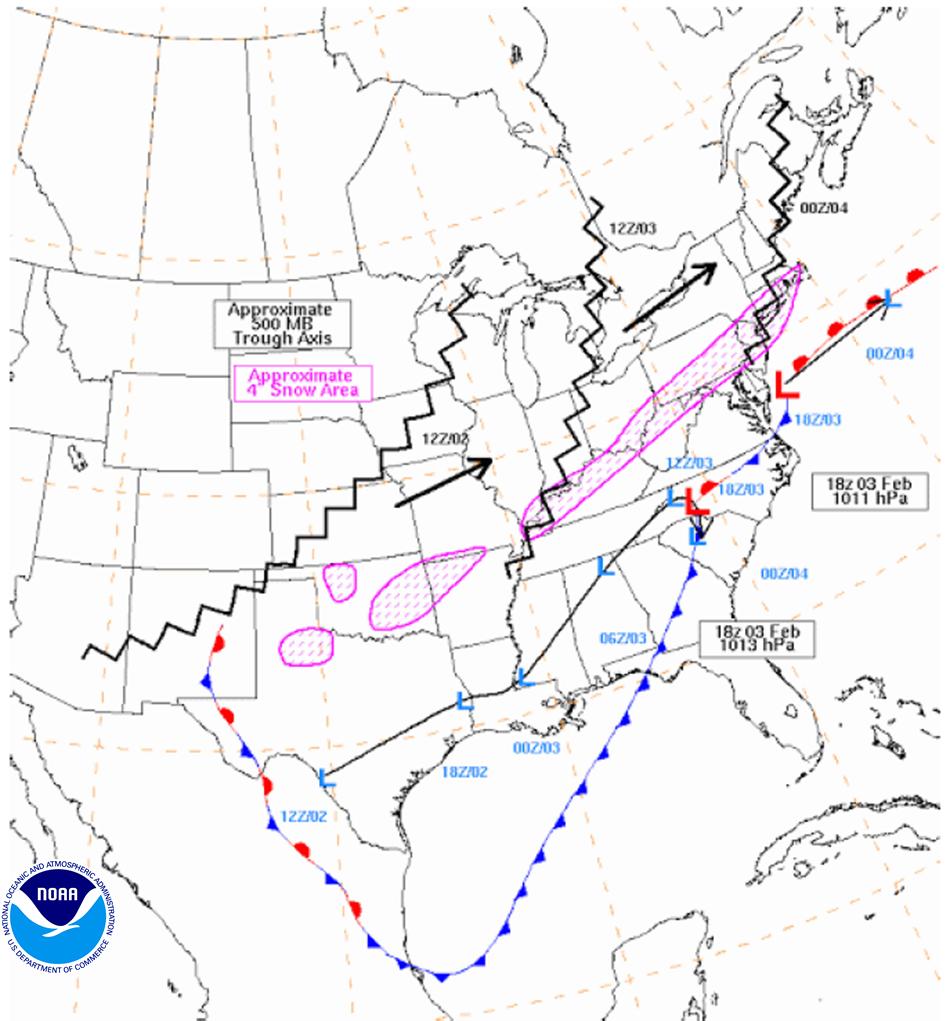 January 28 30 2014 Gulf Coast And Southeast U S Winter Storm