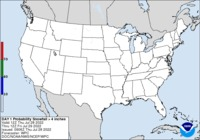 Image of Day 1 snowfall outlook - Click to enlarge