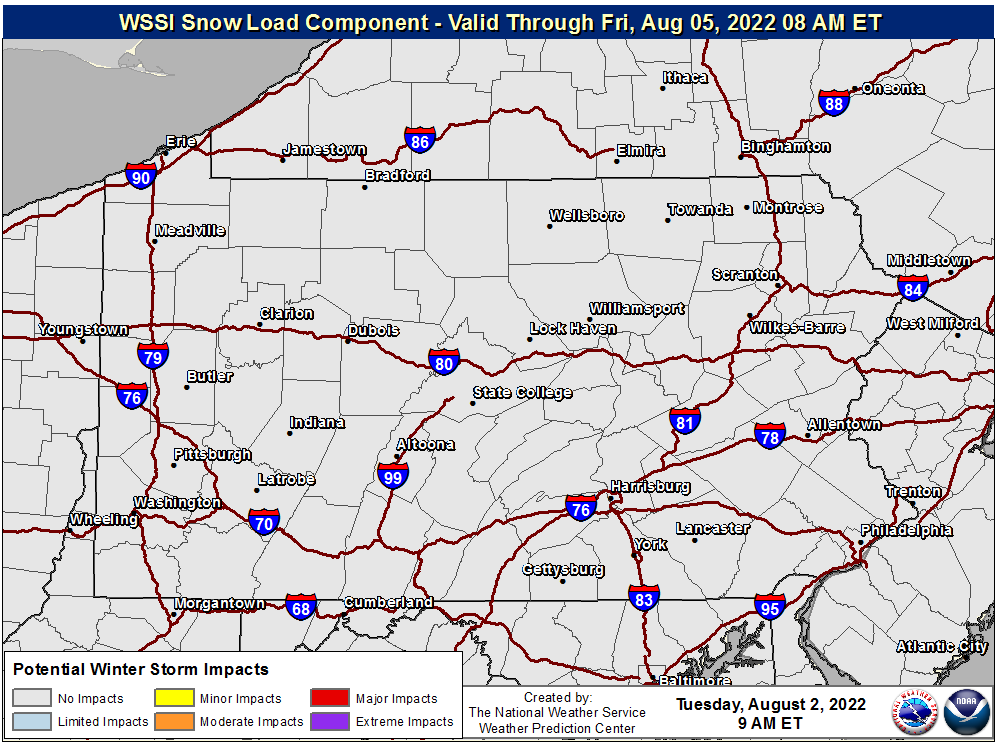 WSSI Snow Load Component